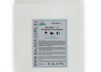 7100 Reinigung und Desinfektion 10l Kanister Balder Care (c) Markus Flicker