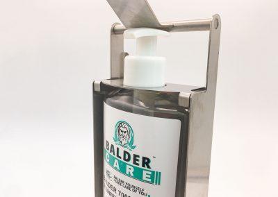 Desinfektionsspender mit Flasche Balder Care