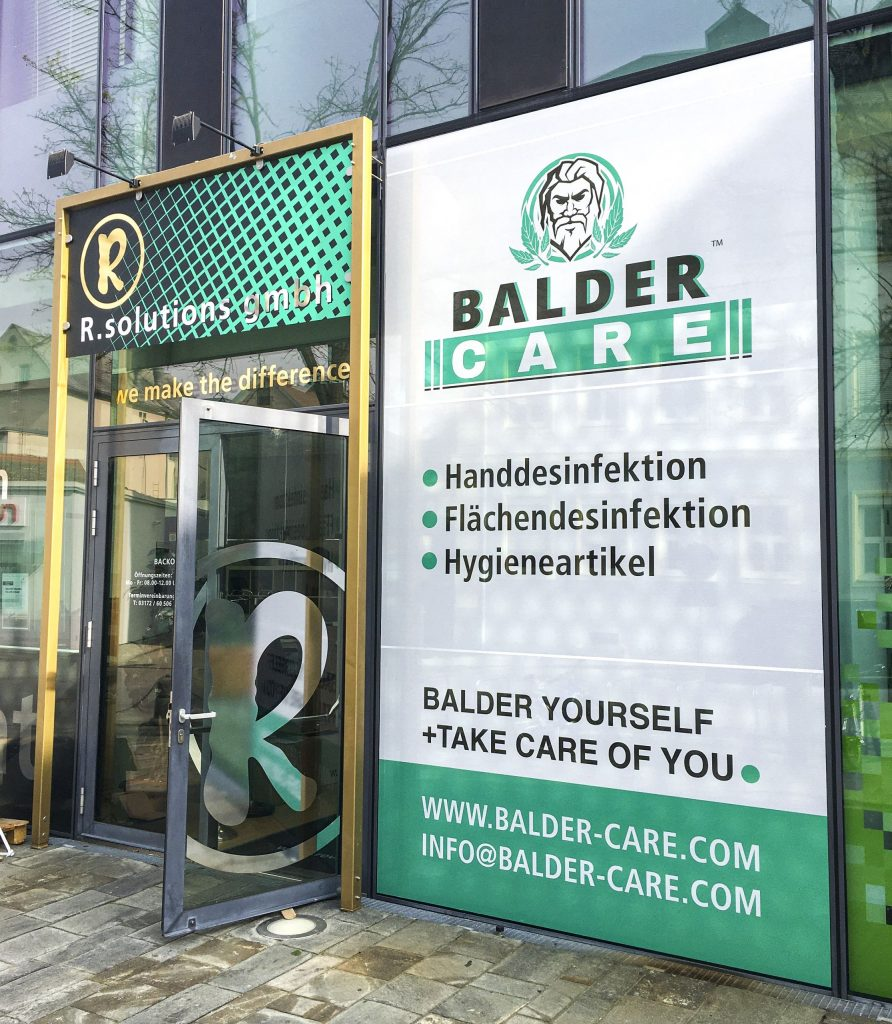 Fassade Balder Care